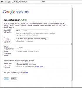 Google UI Redress Attack