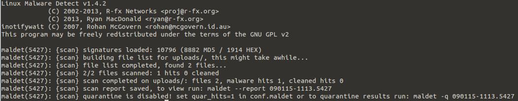 Malware Detection : Adding glastopf juice to maldet engine