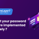 Forgot your password feature