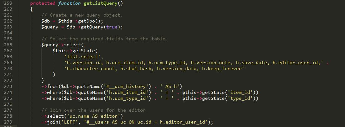 SQL injection Joomla POC