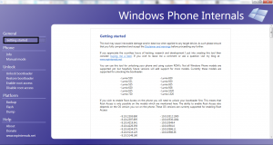 Getting Started- windows phone-1