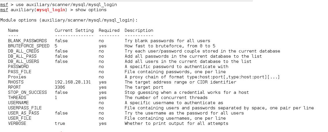 MySQL Login Utility
