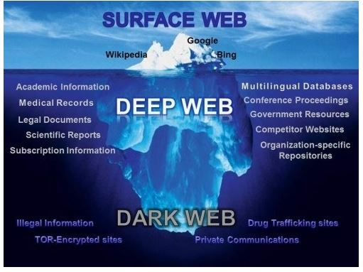 The dark web ratio