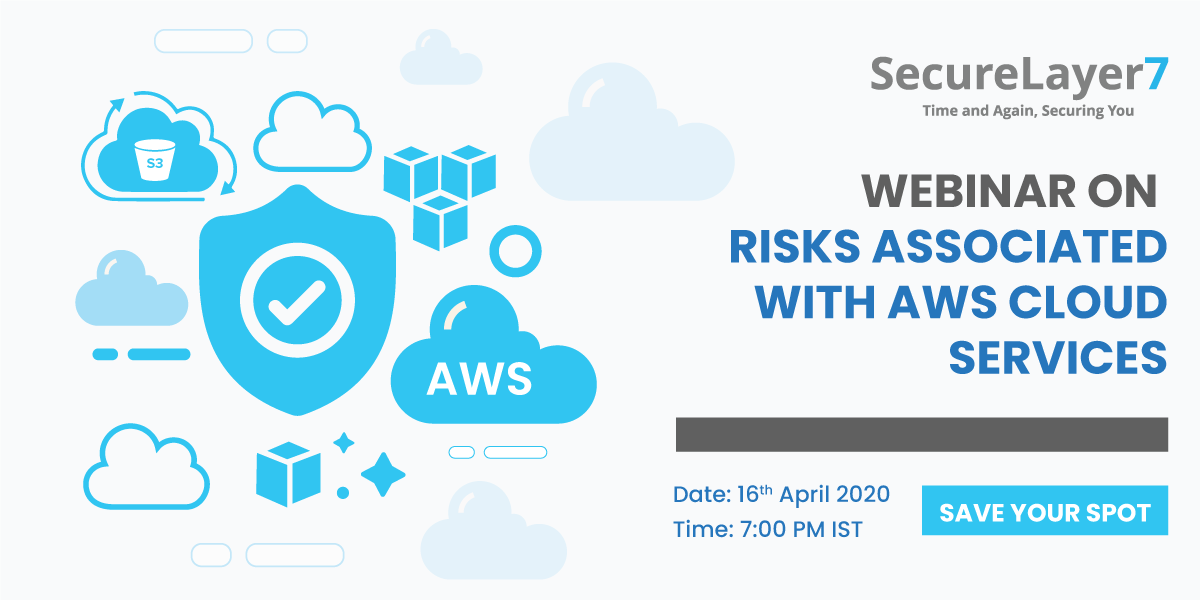 Webinar on AWS Security