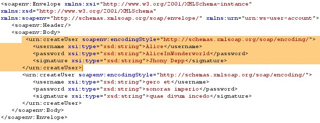 Morphed XML Request