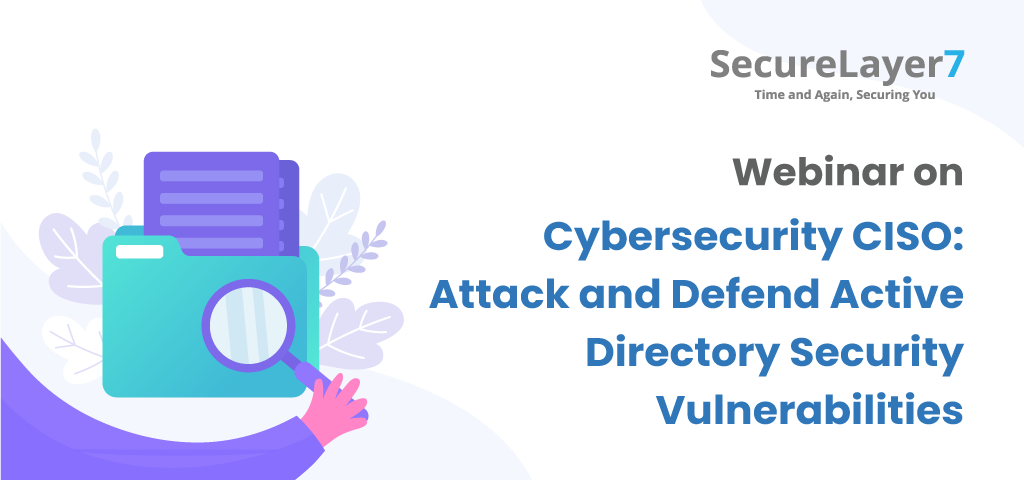 webinar on Cybersecurity CISO